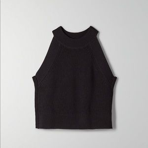 Wilfred Crevier Knit Top - Dark Teal Color